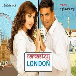 Akshay and Katrina in Namaste London